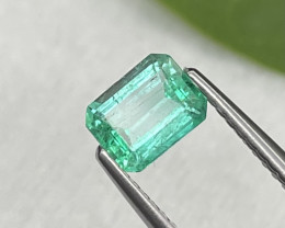 Afghanistan Panjshir Crystal Quality Natural Emerald 0.68 Cts Fine Luster