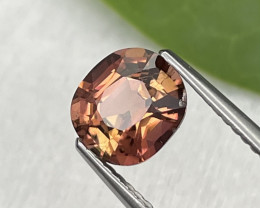 1.75 Cts Custom Cut Salmon Color Natural Top Grade Tourmaline