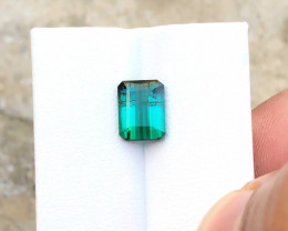 2.55 Ct Natural Blueish Transparent Tourmaline Ring Size Gemstone