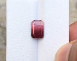 2.25 Ct Natural Red Transparent Rubellite Tourmaline Gemstone