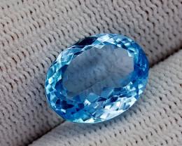 8.75CT BLUE TOPAZ BEST QUALITY GEMSTONE IIGC32