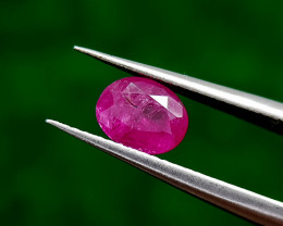 0.79CT RUBY MOZAMBIQUE BEST QUALITY GEMSTONE IIGC32