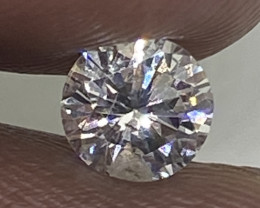 (D) Certified Nat $961 Precious  0.54cts SI2  White Round Loose Diamond