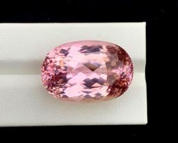 59.75 Carats Pink Color Kunzite Gemstone