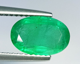 2.18 ct  Top Quality Gem Stunning Oval Cut Natural Emerald