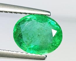 2.01 ct  Amazing Gem Stunning Oval Cut Natural Emerald