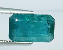 4.03 ct Top Grade Gem Stunning Octagon Cut Natural Grandidierite