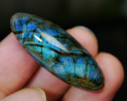 40.00 CT Beautiful Blueish Dragon Skin Chalcedony Agate