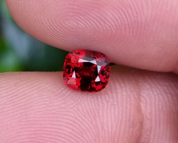 UNTREATED 1.05 CTS NATURAL STUNNING VS VIVID RED SPINEL FROM BURMA