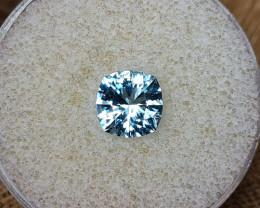 2,58ct Aquamarine - Master cut!