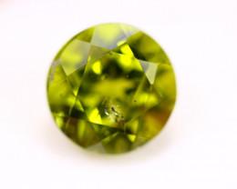 4.84ct Natural Green Peridot Round Cut Lot V4321