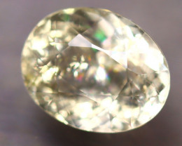 Heliodor 2.27Ct Natural Yellow Beryl D0109/A56