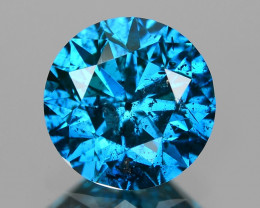 0.77 Cts Sparkling Rare Fancy  Blue Color Natural Loose Diamond