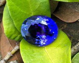 IF 10.03 CT Beautiful Color AAA Tanzanite From Tanzania ( No Reserve)