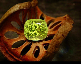 5.90  Carat Natural Grass Color Peridot Gemstone