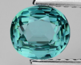 1.24 CT MASTER CUT SEA FOAM TOURMALINE TOP LUSTER AT10