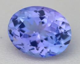 2.53Ct VVS Oval Cut Natural Purplish Blue Tanzanite A2923