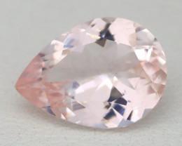 2.05Ct Natural Sweet Pink Morganite VS Pink Beryl Madagascar A2933