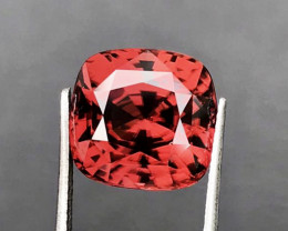 11.98 CT ZIRCON PEACH RED 100% IF CLEAN NATURAL UNHEATED