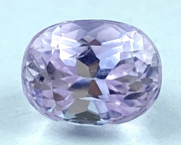 2.25Ct Kunzite Top Cut Top Luster Quality Gemstone.From Pakistan.KZ 129