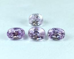 8.79Ct Kunzite Parcel Top Cut Top Luster Quality Gemstone.From Pakistan.KZP
