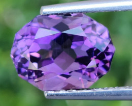 4.45 CTS  DAZZLING FANCY CUT PURPLE AMETHYST WONDERFUL~GEM!!