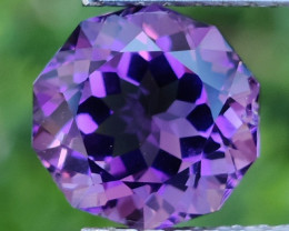 4.00 CTS  DAZZLING FANCY CUT PURPLE AMETHYST WONDERFUL~GEM!!