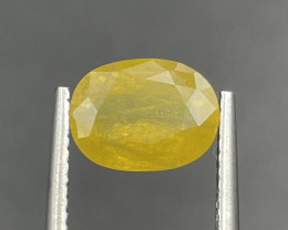2.83 CT yellow Sapphire Gemstones