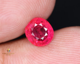 ~GIL Certified 1.62 Carats Ruby