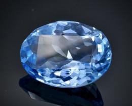 9.37 Crt Natural Topaz Faceted Gemstone.( AB 21)