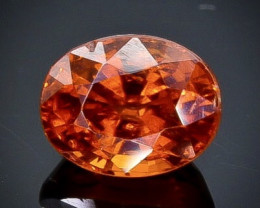 1.44 Crt Natural Spessartite Garnet Faceted Gemstone.( AB 21)