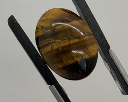 17.84 Ct Tigers Eye Cabochon