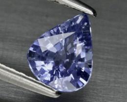 0.86ct Ceylon VS Sapphire - Heated 6.8 x 5.5mm