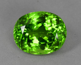 13.50 Cts Amazing Wonderful Color Natural Peridot