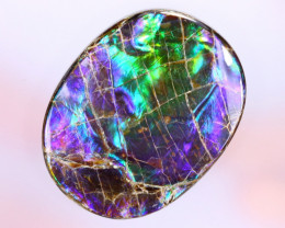 44x34mm,  94.15cts Natural Canadian Ammolite Stone / MA1762