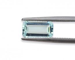 1.72 Cts Stunning Lustrous Natural Aquamarine