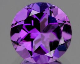 8.00 mm Round 2.06ct Pinkish Purple Amethyst [VVS]
