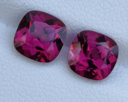 3.90 CTS~ RAREST NATURAL TOP LUSTER RHODOLITE GARNET GEM