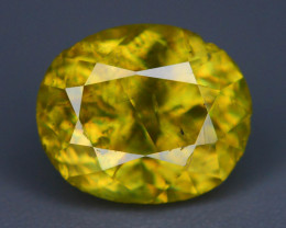 HGTB Certifed Rare AAA Astonishing Fire 1.74 ct  Sphene~Q