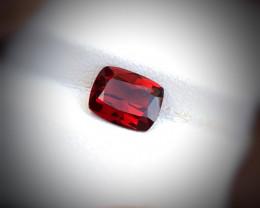2.10 Carats Natural Rhodolite Garnet Cut Stone