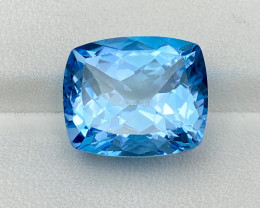 16.40 Cts Natural Sky Blue Topaz Good Luster