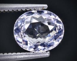 1.04 Crt Morganite Faceted Gemstone (Rk-98)