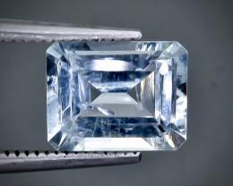 2.12 Crt Aquamarine Faceted Gemstone (Rk-98)