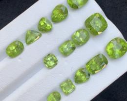 31.70 carats Amazing color Peridot Gemstone from pakistan