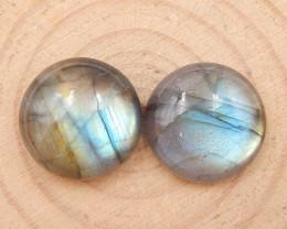 33cts natural labradorite cabochon pairs,labradorite stones,loose gemstones