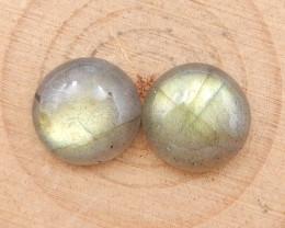 6cts natural labradorite cabochon pairs,labradorite stones,loose gemstones