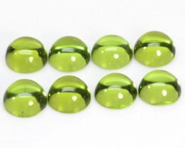 Peridot 5.36 Cts 8Pcs Green Color Natural Gemstone