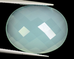 *NoReserve*Agate 10.87 Cts Green Natural Gemstone