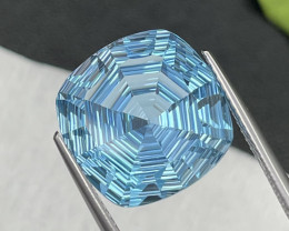 15.40 Cts Master Cut Top Quality Natural Topaz Eye Clean