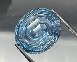 17.55 Cts Master Cut Amazing Quality Natural Topaz VVS